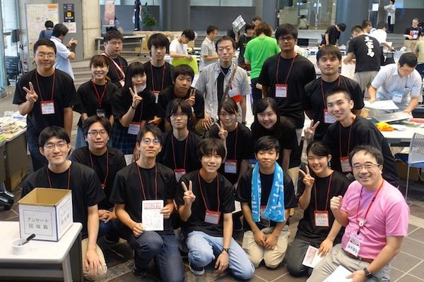 [写真]オープンソースカンファレンス ボランティアスタッフの様子